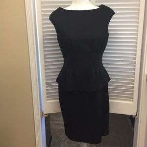 American Living Black Peplum Dress